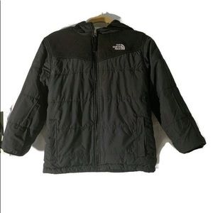 NORTH FACE Black Reversible Coat Size Large